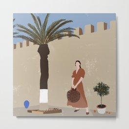 Summer in Marrakesh Metal Print