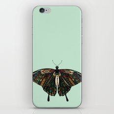 swallowtail butterfly mint iPhone & iPod Skin