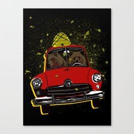 Honey Run Canvas Print