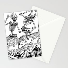 Danse Macabre Stationery Cards