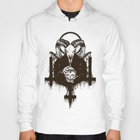 satan Hoodies featuring Satan by Lunaramour