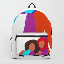 Abstract Minimal Girlfriends Backpack