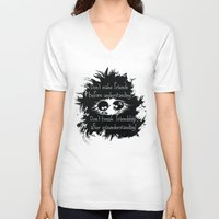 friendship V-neck T-shirts featuring Friendship by Cindys