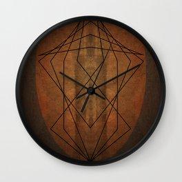 Rock Geometry Wall Clock