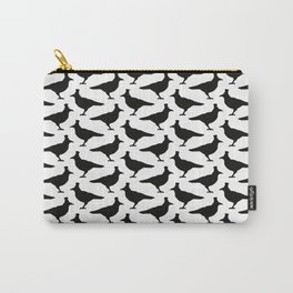Black Ravens - Pattern Carry-All Pouch