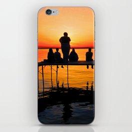 Sconnie Sunset iPhone Skin