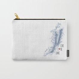 Keuka Live Love Lake Carry-All Pouch