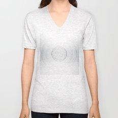 Minimal geometric circle II Unisex V-Neck