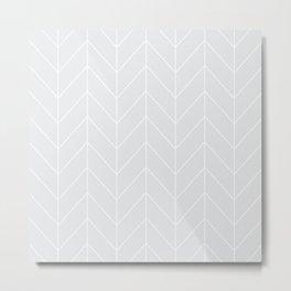 Gray arrows Metal Print