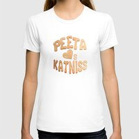katniss T-shirts featuring Peeta Loafs Katniss by pirateprincess