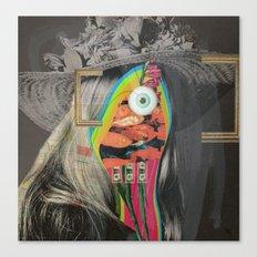 Another Portrait Disaster · mit Hut 2 Canvas Print