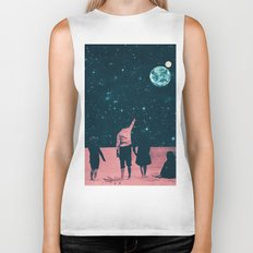 Once Upon A Time on Mars or Children of Mars Biker Tank