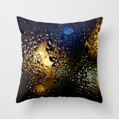 Condensation 62 - Cosmos Throw Pillow