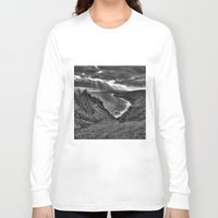 hawaii Long Sleeve T-shirts featuring Hawaii by Green Skye