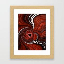 Heart of the Mandelbrot - Fractal Art Framed Art Print