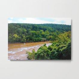 Yadkin River Scene Metal Print