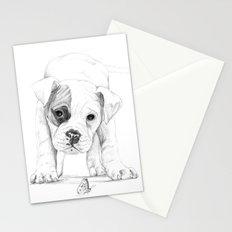 Patch, A Boxer Puppy :: Shelter Dog Project Stationery Cards