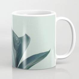 Teal Mint Plant Coffee Mug