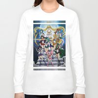 sailor moon Long Sleeve T-shirts featuring SAILOR MOON  by CARLOSGZZ