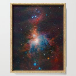 Orion Nebula Space Art Serving Tray
