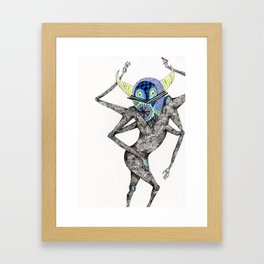 Dancing Spirit Framed Art Print