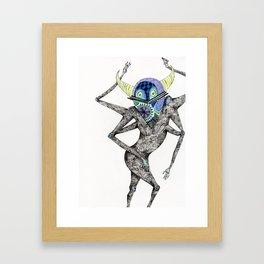 Dancing Spirit Framed Art Print