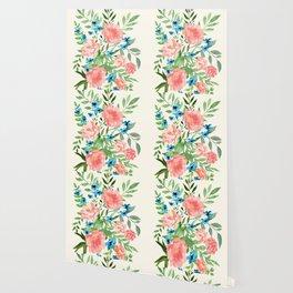 Watercolor Peonies Wallpaper