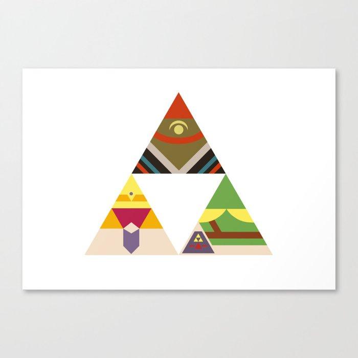 The Legend of Zelda: Legend of the Triforce Canvas Print