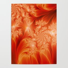 Fractal The Heat of the Sun Poster