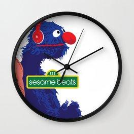 Sesame Beats Wall Clock