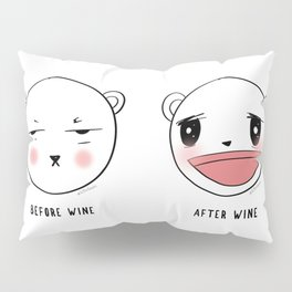 Me After Coffee & Wine Pillow Sham