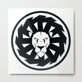 Faction symbol lion Metal Print