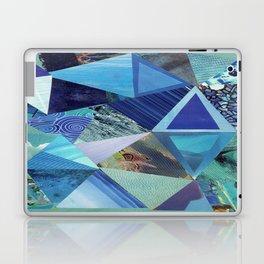 Collage - So Blue Laptop & iPad Skin