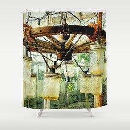 Vintage Jars Shower Curtain