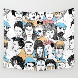 We All. Wall Tapestry