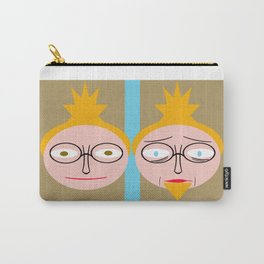 bbnyc: young guy old guy Carry-All Pouch