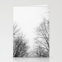 gray Stationery Cards featuring Gray by Diana Mutino