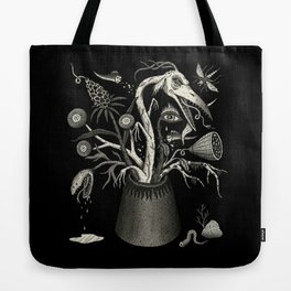 Fierce Bouquet Tote Bag