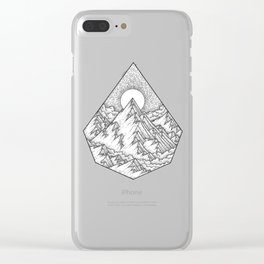 Higher Place Clear iPhone Case