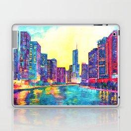Chicago River Laptop & iPad Skin