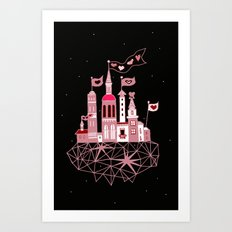 city of love Art Print