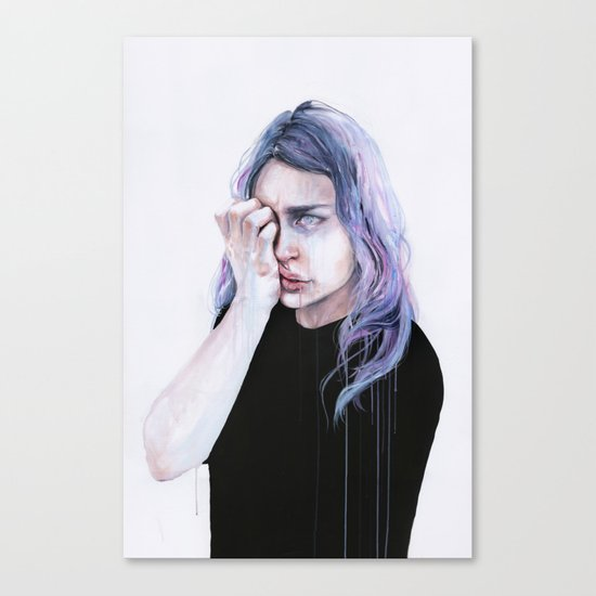I could but I can't Canvas Print