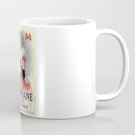 Belle Epoque vintage poster, Sarah Bernhardt, La Diaphane Coffee Mug