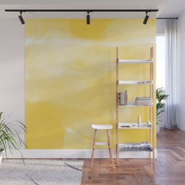 Yellow Wall Mural