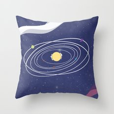 A Solar View Throw Pillow