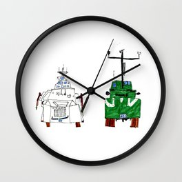 Tornado Intercepter Vehicle (TIV) Wall Clock