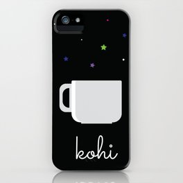 Coffee Is The Life Saver iPhone Case