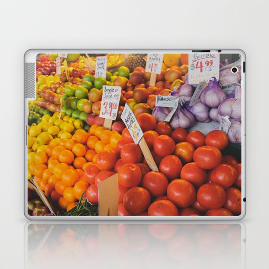 produce: Seattle Laptop & iPad Skin
