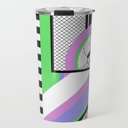AMPS Deux - Abstract, Marble, Pastel, Stripes Travel Mug