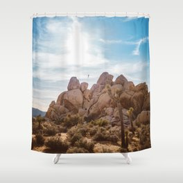Joshua Tree National Park VIII Shower Curtain
